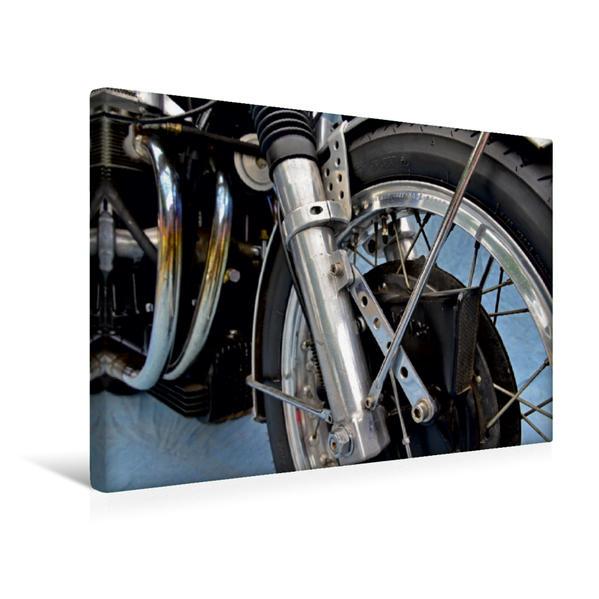 Premium Textil-Leinwand 45 cm x 30 cm quer, Ein Motiv aus dem Kalender Münch Mammut TTS | Wandbild, Bild auf Keilrahmen, Fertigbild auf echter Leinwand, Leinwanddruck - Coverbild