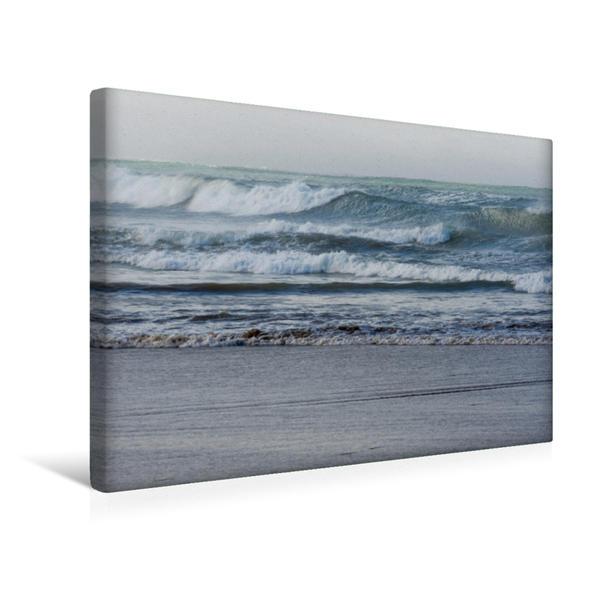 Premium Textil-Leinwand 45 cm x 30 cm quer, Ein Motiv aus dem Kalender Emotionale Momente: Meeresrauschen | Wandbild, Bild auf Keilrahmen, Fertigbild auf echter Leinwand, Leinwanddruck - Coverbild