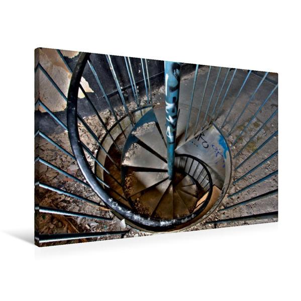Premium Textil-Leinwand 90 cm x 60 cm quer, Ein Motiv aus dem Kalender  Gummiwerk Limmer   Wandbild, Bild auf Keilrahmen, Fertigbild auf echter Leinwand, Leinwanddruck - Coverbild