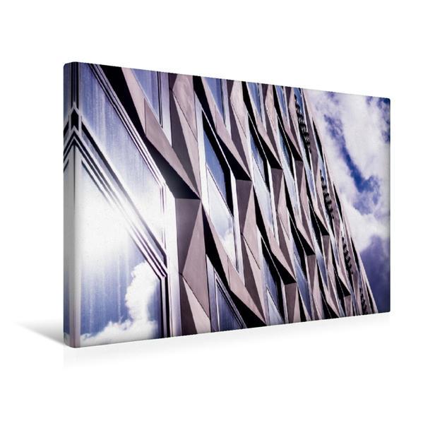 Premium Textil-Leinwand 45 cm x 30 cm quer, Doppelblick zum Himmel | Wandbild, Bild auf Keilrahmen, Fertigbild auf echter Leinwand, Leinwanddruck - Coverbild