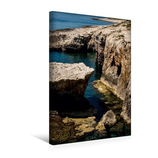 Premium Textil-Leinwand 30 cm x 45 cm hoch, Kroatien - Istrien | Wandbild, Bild auf Keilrahmen, Fertigbild auf echter Leinwand, Leinwanddruck - Coverbild