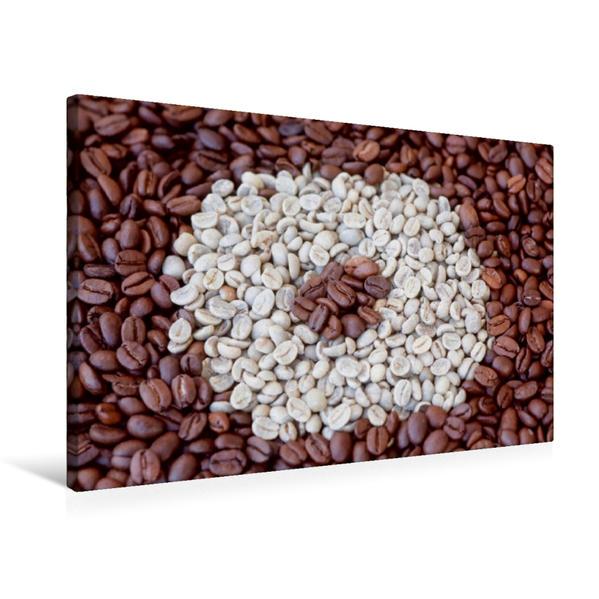 Premium Textil-Leinwand 75 cm x 50 cm quer, Ein Motiv aus dem Kalender Kaffee (CH-Version) | Wandbild, Bild auf Keilrahmen, Fertigbild auf echter Leinwand, Leinwanddruck - Coverbild