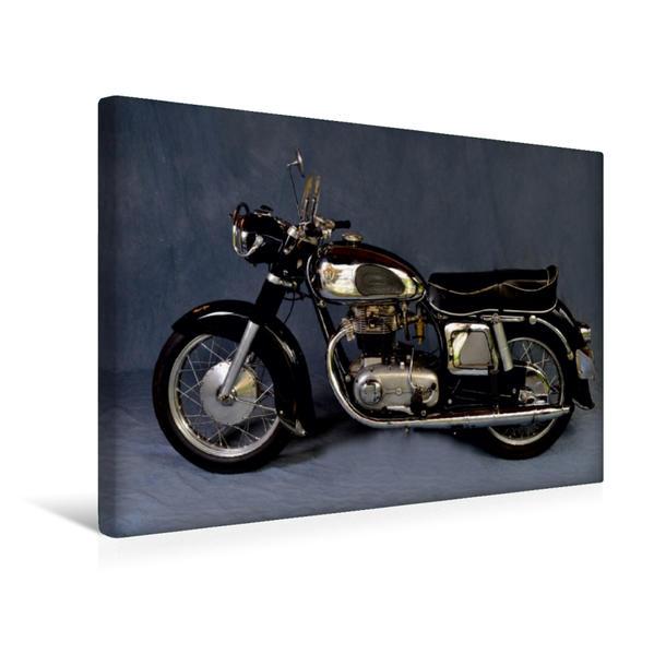 Premium Textil-Leinwand 45 cm x 30 cm quer, Horex Imperator Baujahr 1955 | Wandbild, Bild auf Keilrahmen, Fertigbild auf echter Leinwand, Leinwanddruck - Coverbild