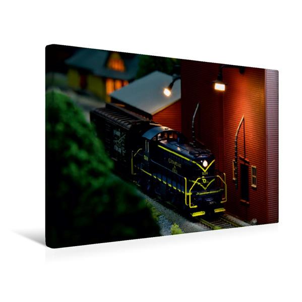 Premium Textil-Leinwand 45 cm x 30 cm quer, RS 1 | Wandbild, Bild auf Keilrahmen, Fertigbild auf echter Leinwand, Leinwanddruck - Coverbild