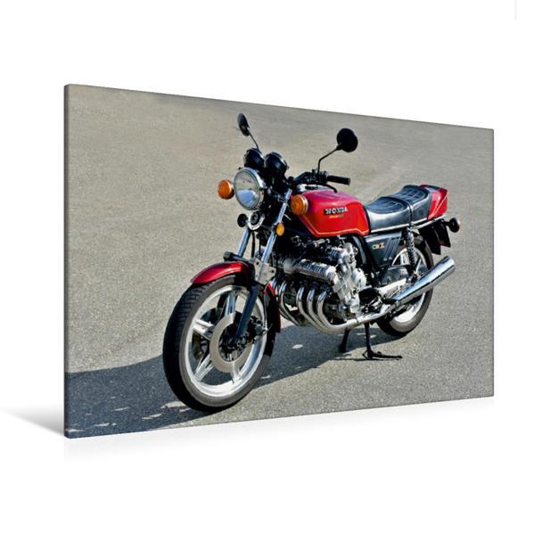 Premium Textil-Leinwand 120 cm x 80 cm quer, Ein Motiv aus dem Kalender Honda CBX 1000 | Wandbild, Bild auf Keilrahmen, Fertigbild auf echter Leinwand, Leinwanddruck - Coverbild