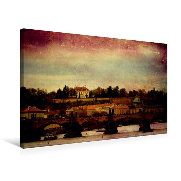 Premium Textil-Leinwand 75 cm x 50 cm quer, Prager Stillleben | Wandbild, Bild auf Keilrahmen, Fertigbild auf echter Leinwand, Leinwanddruck - Coverbild