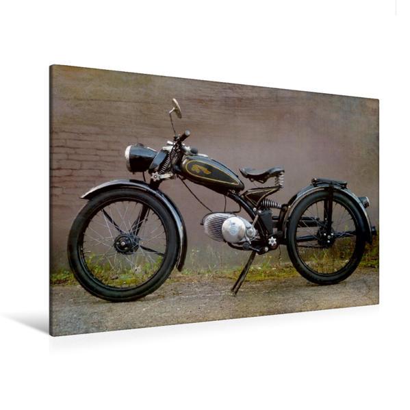 Premium Textil-Leinwand 120 cm x 80 cm quer, Imme R100 | Wandbild, Bild auf Keilrahmen, Fertigbild auf echter Leinwand, Leinwanddruck - Coverbild