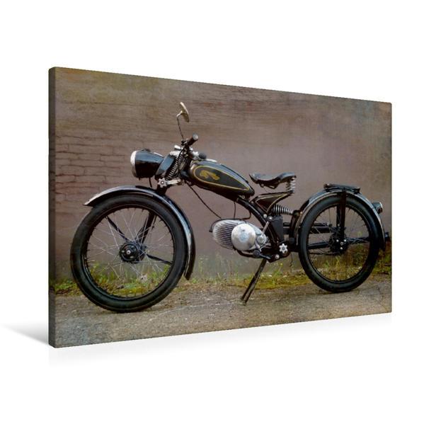 Premium Textil-Leinwand 90 cm x 60 cm quer, Imme R100 | Wandbild, Bild auf Keilrahmen, Fertigbild auf echter Leinwand, Leinwanddruck - Coverbild