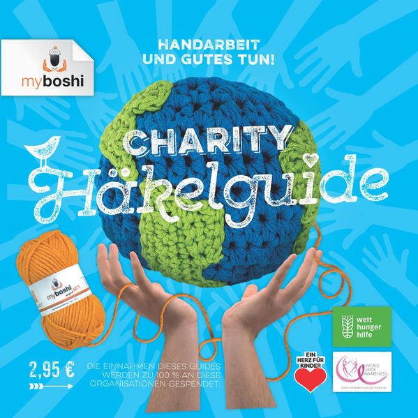 myboshi Charity Häkelguide - Coverbild