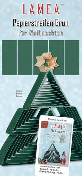 LAMEA Papierstreifen Grün für Weihnachten - Coverbild