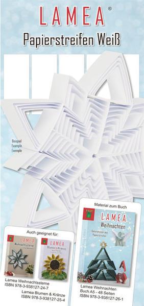 LAMEA Papierstreifen Weiß für Weihnachten - Coverbild