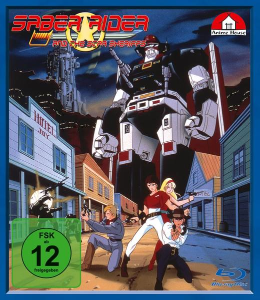 Saber Rider and the Star Sheriffs Kobalt  Blaster Ed. Set 1 - Coverbild
