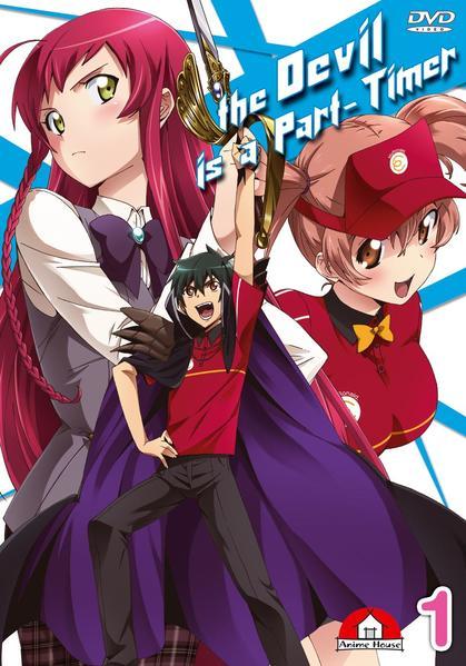 The Devil is a Part-Timer – Hataraku Maoh-sama Blu-ray 1 - Coverbild