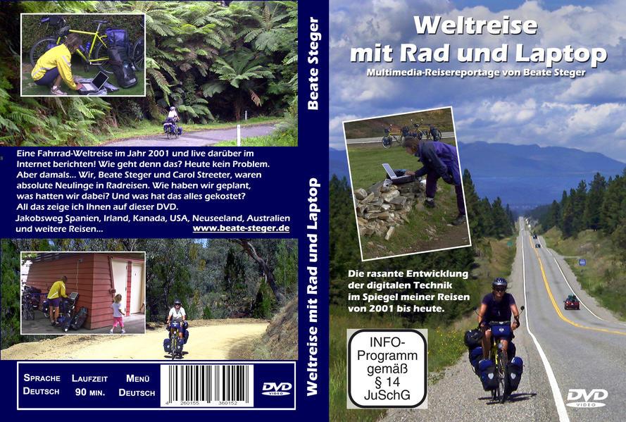 Weltreise mit Rad und Laptop - Coverbild