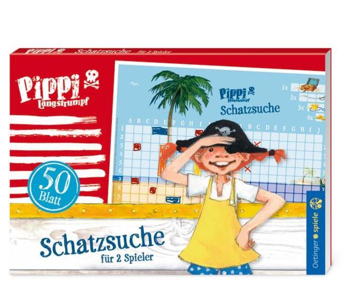 Pippi Langstrumpf Blockspiel Schatzsuche - Coverbild