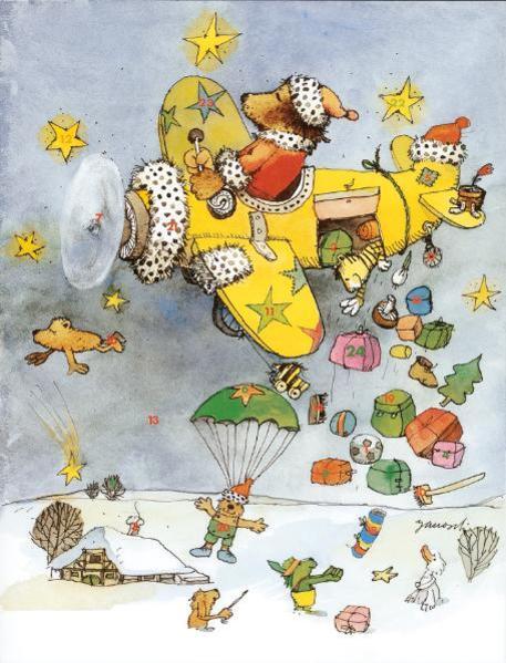 Janoschs Adventskalender Luftpost - Coverbild