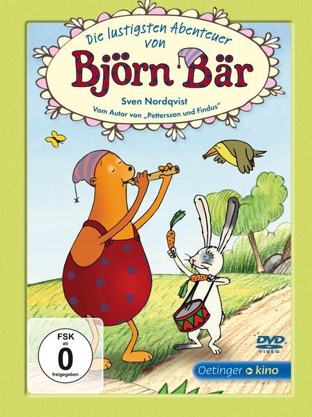 Die lustigsten Abenteuer von Björn Bär (DVD) - Coverbild