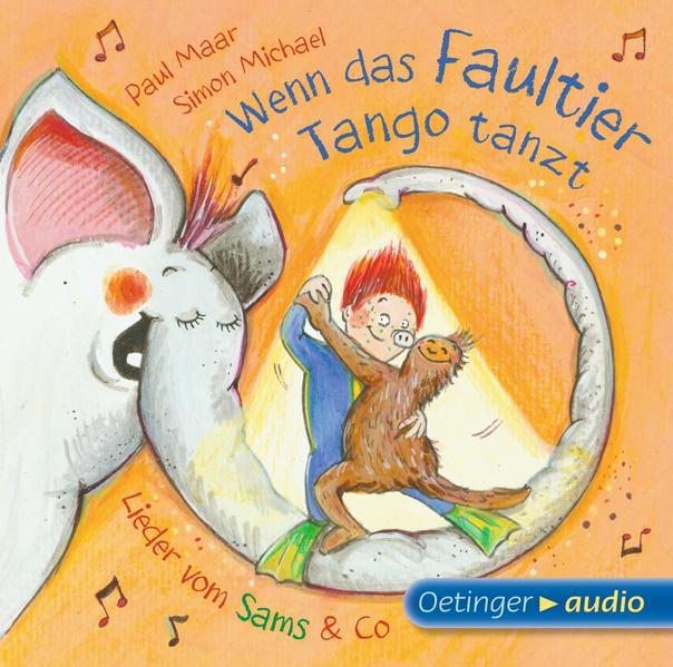 Wenn das Faultier Tango tanzt. Lieder vom Sams & Co. (CD) - Coverbild