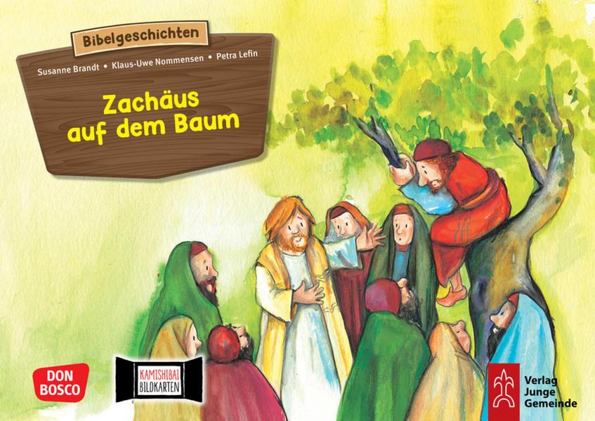 Zachäus auf dem Baum - Coverbild