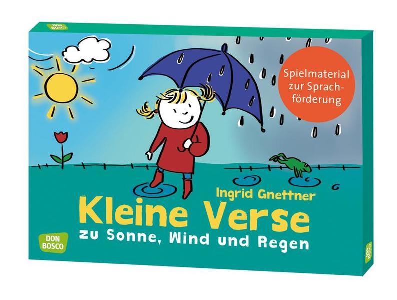 Kleine Verse zu Sonne, Wind und Regen - Coverbild