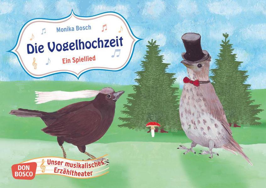Die Vogelhochzeit. Ein Spiellied - Coverbild