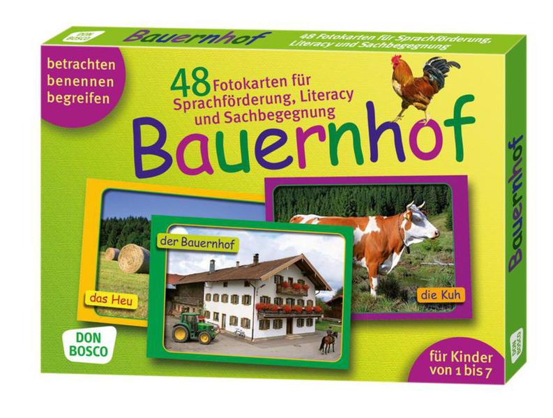 Bauernhof. Sprachförderung, Literacy und Sachbegegnung in der Kita - Coverbild
