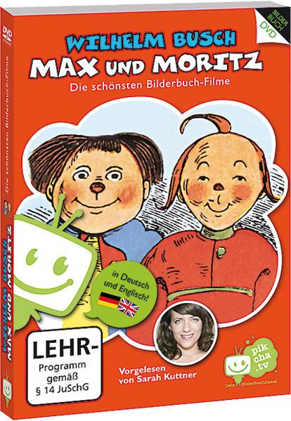 Wilhelm Busch: Max und Moritz - Coverbild