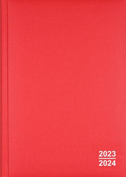 Organisations- und Planungsbuch 2014/2015, rot - Coverbild