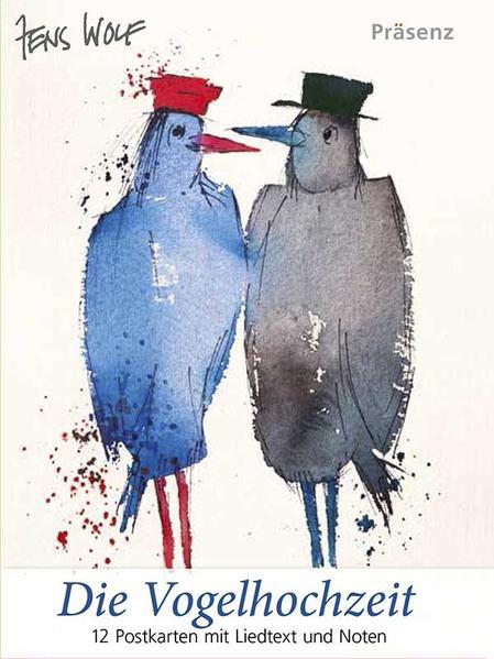 Postkarten-Set  Die Vogelhochzeit - Coverbild