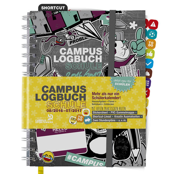 CampusLogbuch SCHULE 2016/17 - Coverbild