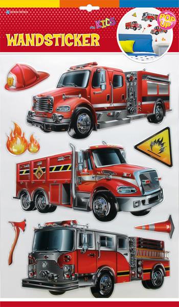 Wandsticker Feuerwehr - Coverbild