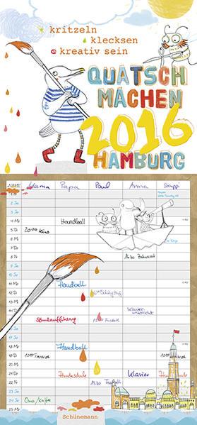 Quatsch machen 2016 Hamburg - Coverbild