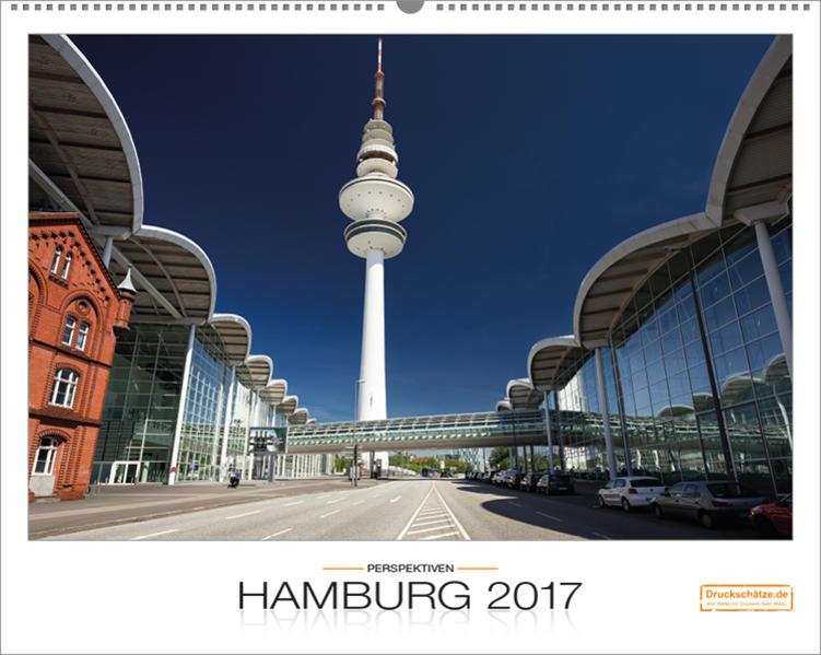 Hamburg-Perspektiven Kalender 2017, Großformat, von Druckschätze.de - Coverbild