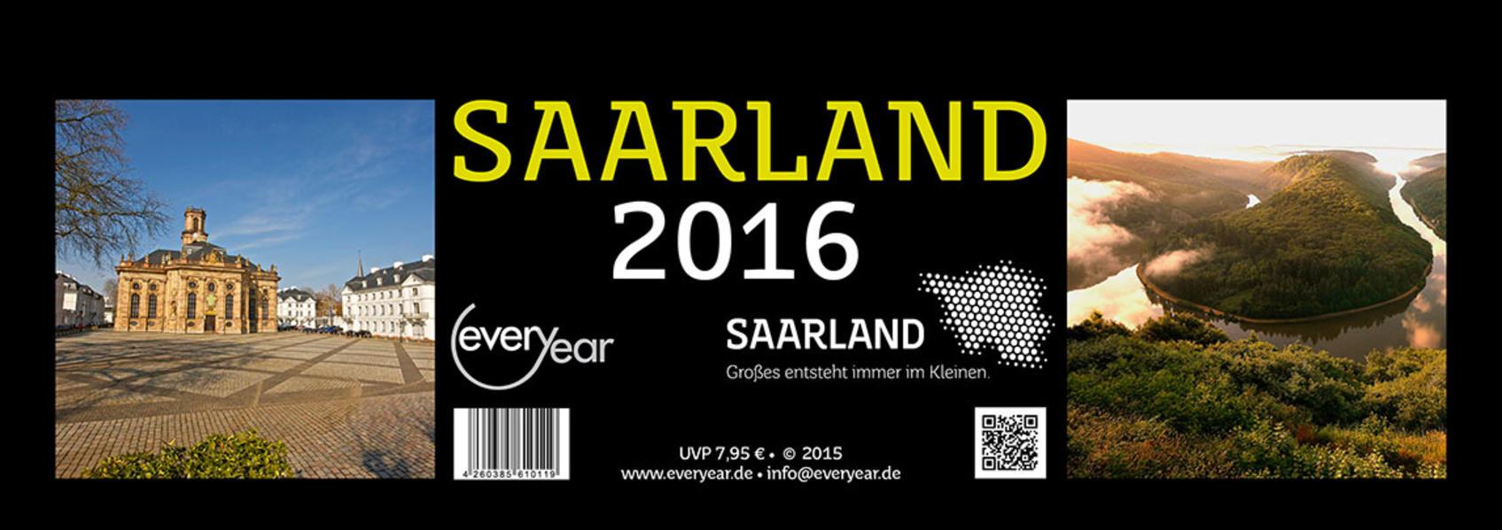 SAARLAND 2016 (schwarz) - Coverbild