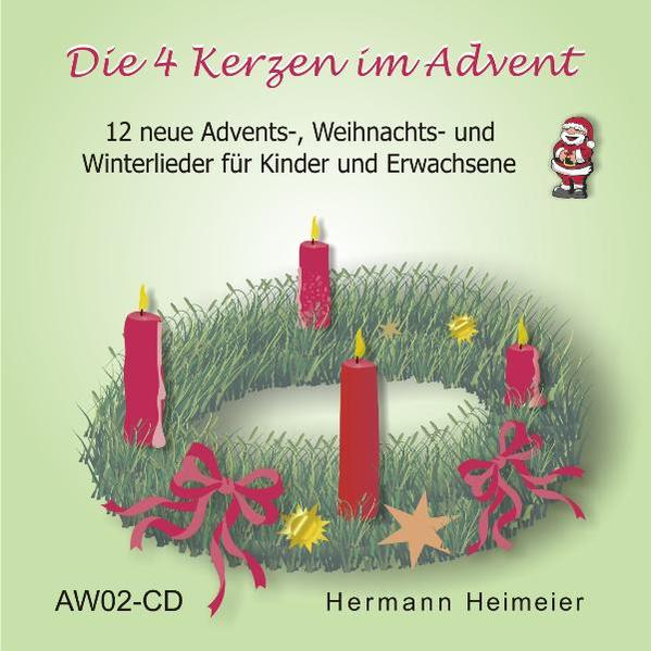 Die 4 Kerzen im Advent - Coverbild