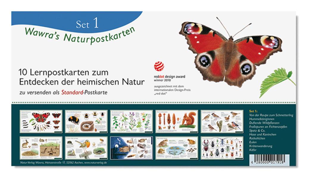 Wawra's Naturpostkarten, Set 1 - Coverbild