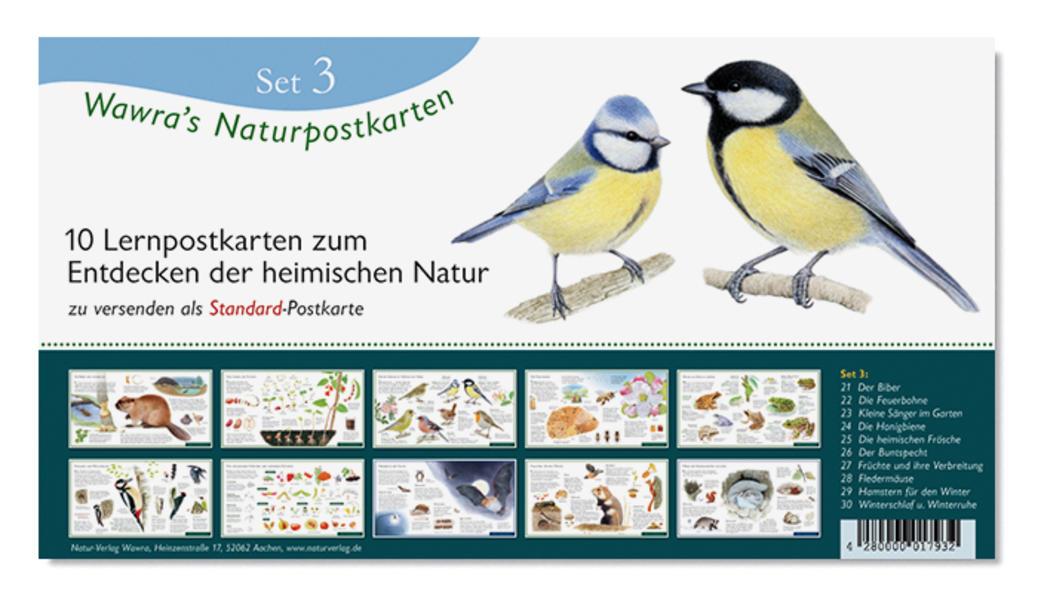Wawra's Naturpostkarten, Set 3 - Coverbild
