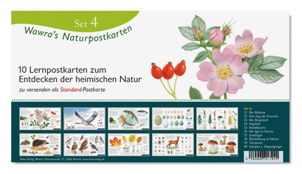Wawra's Naturpostkarten, Set 4 - Coverbild