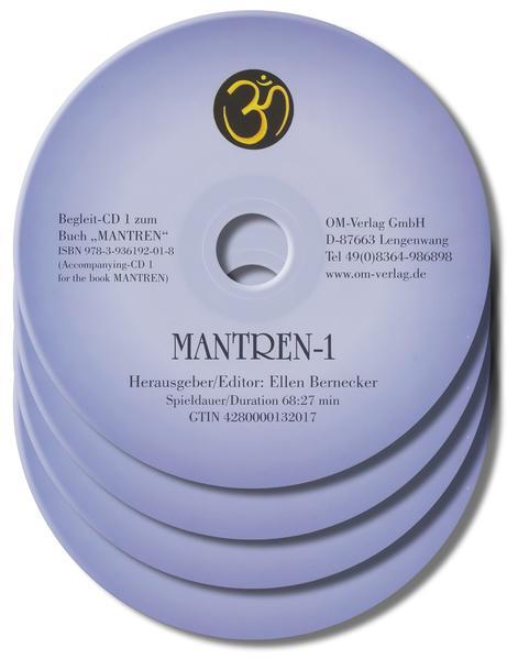 Mantren-CDs. Über 100 Mantren aus den großen Weltreligionen - Coverbild