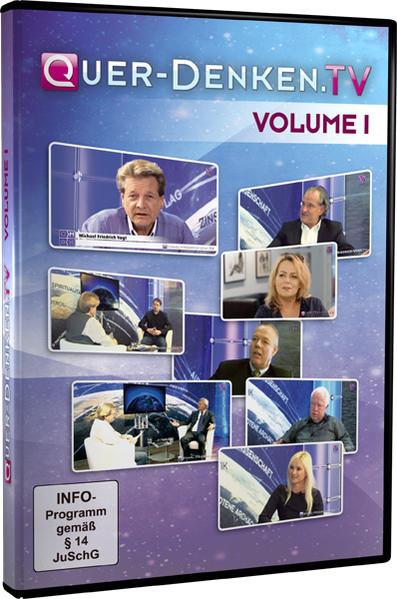Quer-Denken.TV - Volume 1 - Coverbild