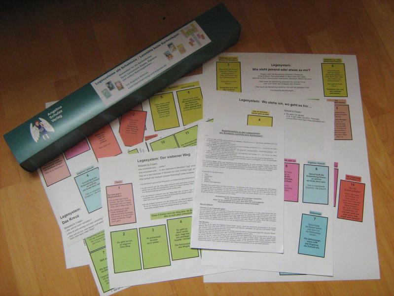 Legesysteme als Schablone / Lernhilfe beim Kartenlegen - Coverbild