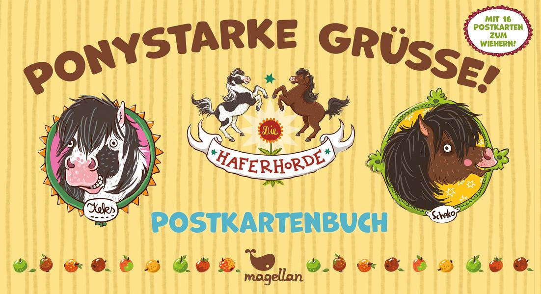 Die Haferhorde – Ponystarke Grüße! – Postkartenbuch - Coverbild