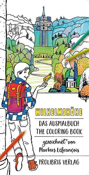 Wilhelmshöhe - Das Ausmalbuch - Coverbild