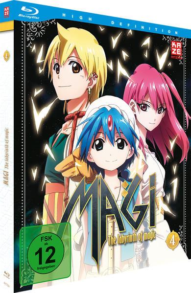 Magi – The Labyrinth of Magic – Box 4 – Blu-ray - Coverbild