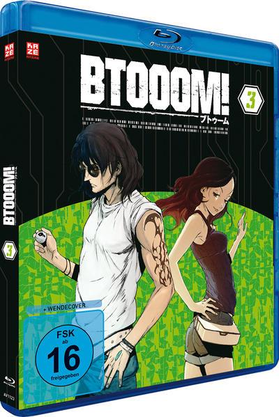 BTOOOM! – Vol. 3 – Blu-ray - Coverbild