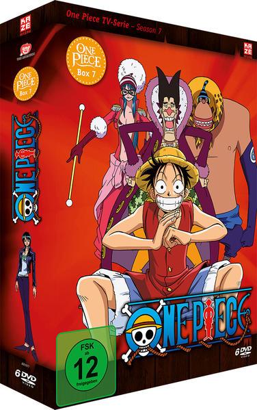 One Piece – Die TV-Serie – Box 7 - Coverbild