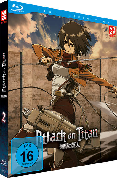 Attack on Titan - Blu-ray 2 - Coverbild