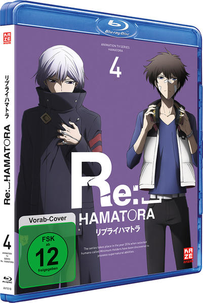 Re: Hamatora - 2. Staffel - Blu-ray 4 - Coverbild