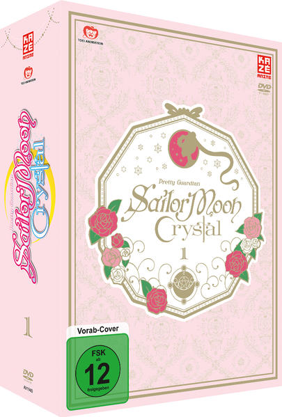 Sailor Moon Crystal - DVD 1 + Sammelschuber  - Coverbild