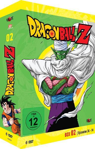 Dragonball Z - Box 2/10 - Coverbild